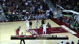 Seattle Redhawks vs New Mexico State Aggies (14.03.2015)