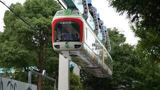 上野動物園モノレール - 西園発車