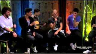 The Wanted - Chasing The Sun @ (The Hot Hits IRL)
