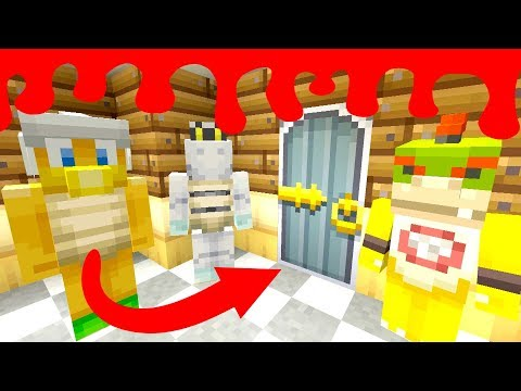 *OMG* THE SECRET DOOR OPENED!  Nintendo Fun House  Minecraft Switch 270
