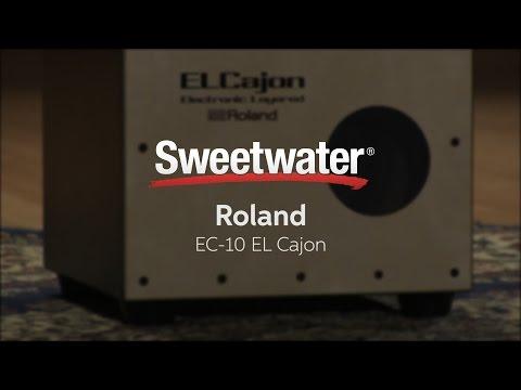 Roland EC-10 El Cajon Electronic Cajon Review by Sweetwater