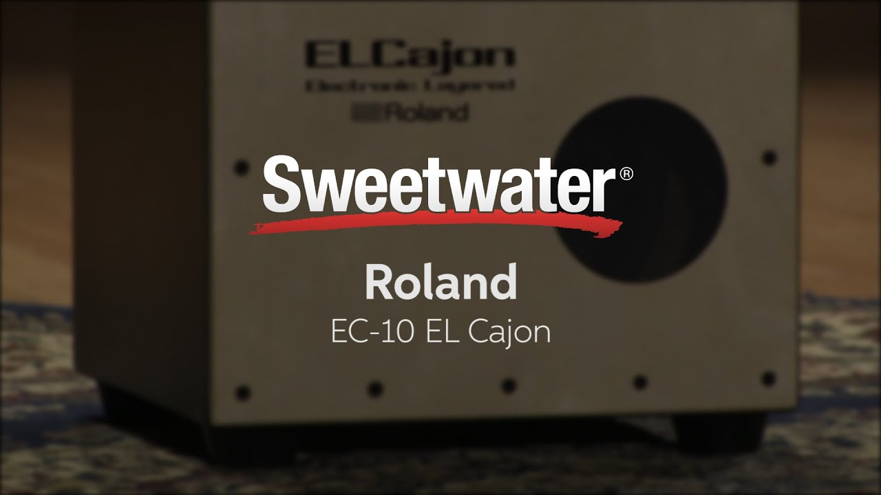 roland ec 10 el cajon electronic cajon review by sweetwater youtube. Black Bedroom Furniture Sets. Home Design Ideas