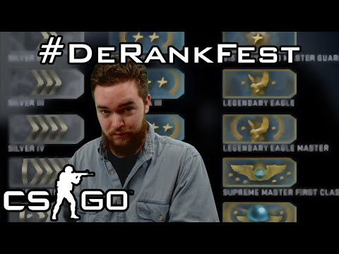 CS:GO Ranking System Changes? #DeRankFest? (Vlog)