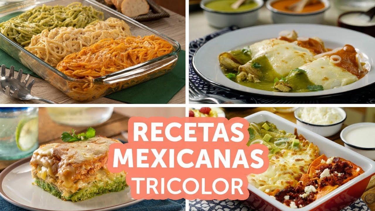 Recetas mexicanas tricolor | Kiwilimón