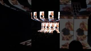 Ed Sheeran - Opening/ Castle on the Hill Snippet - Wells Fargo Center, PA July 12 2017