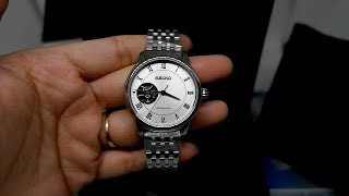 Seiko Presage Womens SSA859J1 Sapphire Silver - Jam Tangan Wanita SSA859