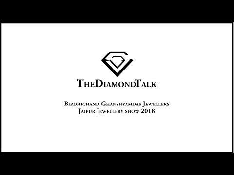 Birdhichand Ghanshyamdas Booth In Jaipur Jewellery Show 2018