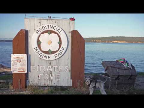 Pirate's Cove Marine Park - Gulf Islands British Columbia