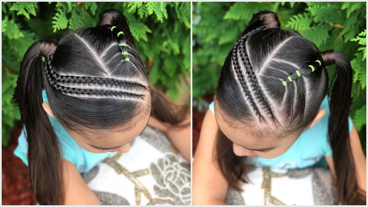 Explicación peinados de trenzas faciles para niña paso a paso Imagen de cortes de pelo tutoriales - Como Hacer Peinados Con Trenzas Faciles Para Niña Paso A ...