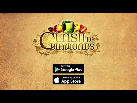 Clash of Diamonds - Match 3 Puzzle Game | Android & iOS Mobile Game