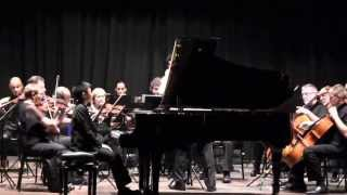 Ray (11) plays Mozart Piano Concerto no. 17 in G major, K.453 1st mvt