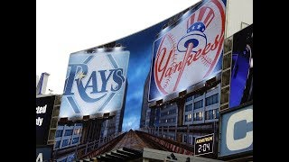 New York Yankees vs Tampa Bay Rays Starting Lineups 4/04/2018