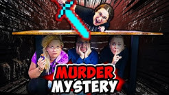 MEGA Real Life Murder Mystery Challenge!