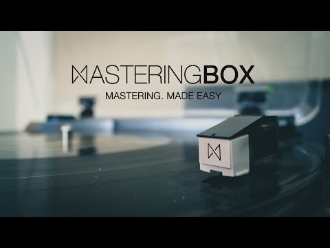 Free online Audio Mastering Software, MasteringBOX.