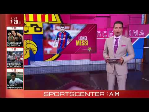 Lionel Messi new contract met with celebration and some relief by Barcelona
