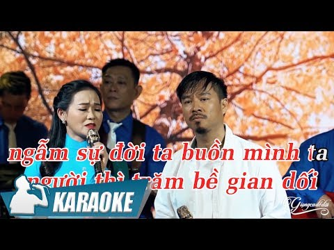 Tình Đời 2 Karaoke Song Ca - Quang Lập & Quý Lễ