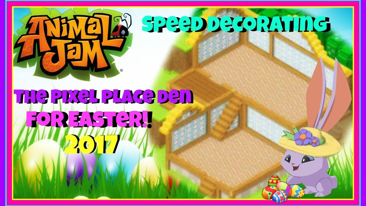 Download Animal Jam: Speed Decorating For Easter! 2017