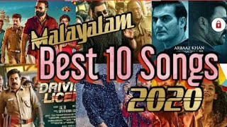 Best Of Malayalam Songs 2020   Beginning Of 2020   Top 10   Non-Stop Audio Songs Playlist
