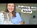 Columbia Snow Boots Review!