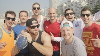 Dude Perfect Epic Skills Challenge | Hyundai FIFA World Cup™ Taxi