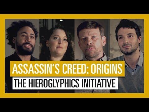 Assassin's Creed Origins: The Hieroglyphics Initiative announcement video