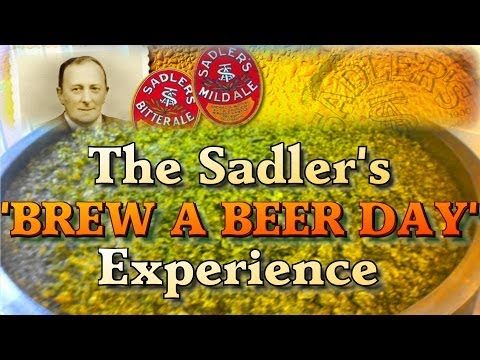 Sadlers Brew a Beer Day Experience - Brewing Red IPA at the brewery