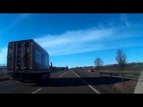 Morning Drive From Dundee To Perth Perthshire Scotland