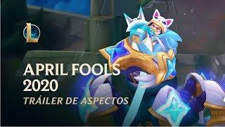 April Fools 2020 | Tráiler de aspectos oficial - League of Legends