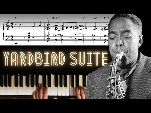 Yardbird Suite - Solo Piano Arrangement │Jazz Piano Lesson #27
