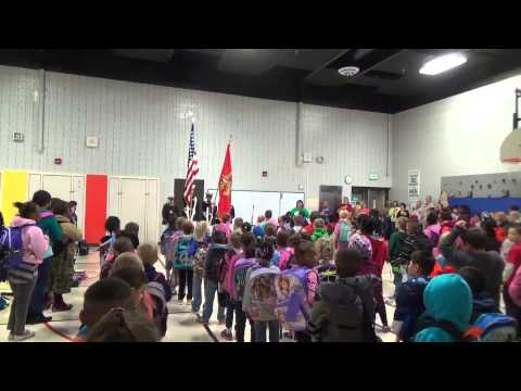 Findley Elementary Honors the 200th Anniversary of the Star Spangled Banner