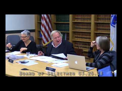 Board of Selectmen 03.26.18