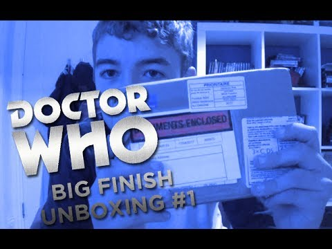 Doctor Who Big Finish Unboxing #1