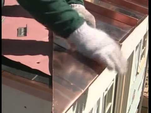 Installing a Standing-Seam Copper Roof
