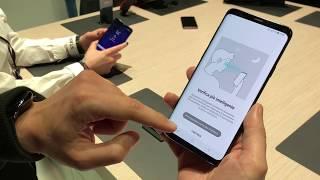 Samsung Galaxy S9 Plus: ecco come funziona lo sblocco ibrido - MWC 2018