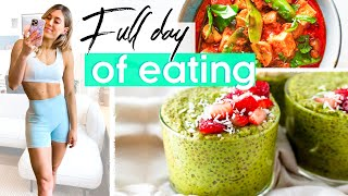 What I Eat In a Day: Intuitive Eating + EASY Meals