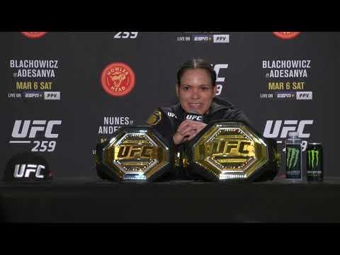 UFC 259: Amanda Nunes Post-fight Press Conference