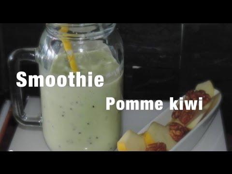 healthy-:-smoothie-pomme-kiwis-#2-@chadcuisine