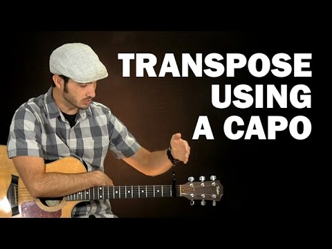 How to transpose using a capo | Beginner guitar lesson
