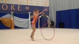 Rhythmic Gymnastics Hoop Routine - Katrina