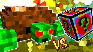 TARTARUGA GIGANTE VINGATIVA VS. LUCKY BLOCK POWERED (MINECRAFT LUCKY BLOCK CHALLENGE)