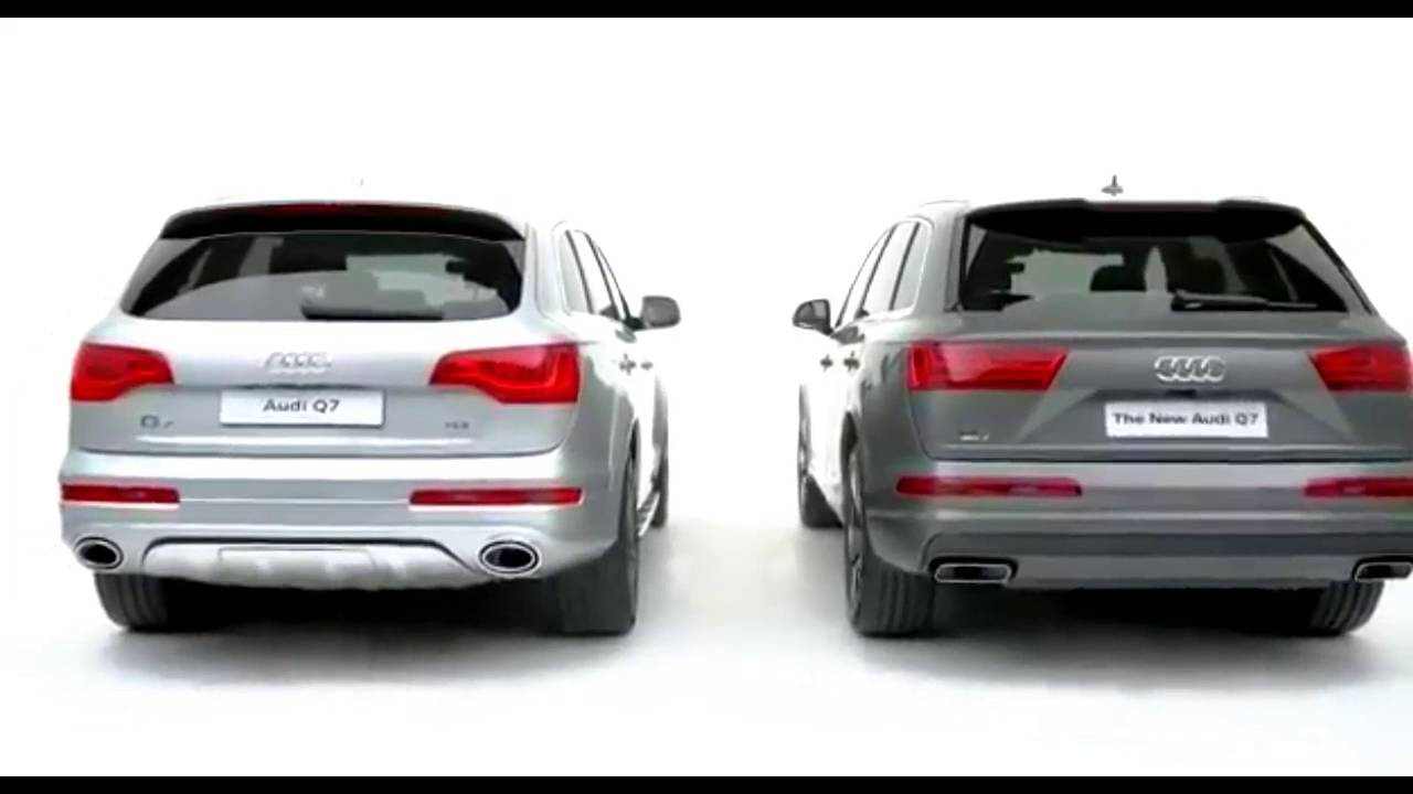 2016 Audi Q7 | Comparison Film (New Vs Old) - YouTube