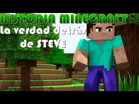 HISTORIA MINECRAFT   La verdad detrás de Steve