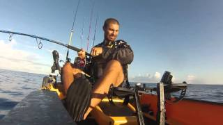 Kapintense jig en kayak ile de la Réunion