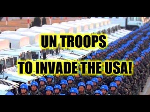 ALERT: HILLARY & UNITED NATIONS TROOPS TO OVERTURN TRUMPS LANDSLIDE VICTORY?