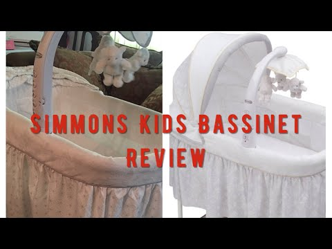 Simmons Kids Bassinet Review !