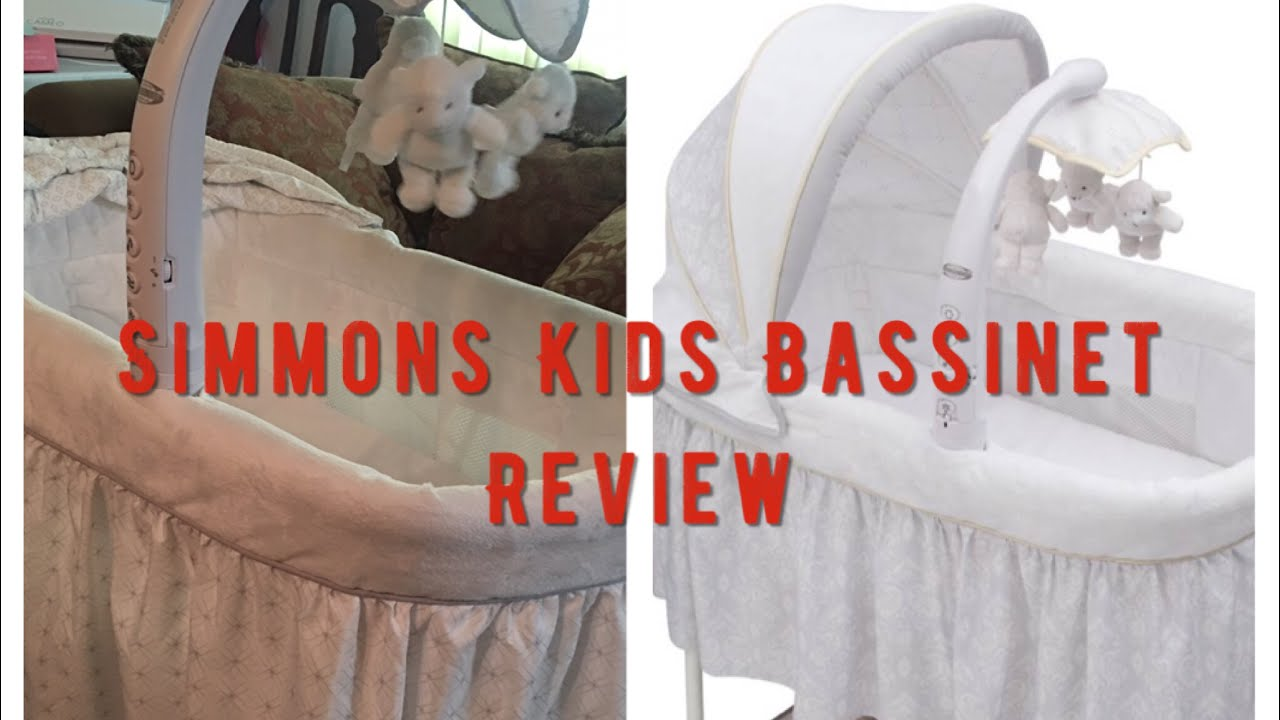 Simmons Kids Bassinet Review ! - YouTube beb9d7292
