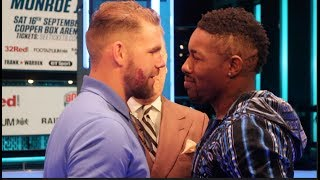 BILLY JOE SAUNDERS v WILLIE MONROE JR  - OFFICIAL HEAD TO HEAD / SAUNDERS v MUNROE JR