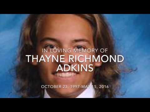Tribute to Thayne Adkins