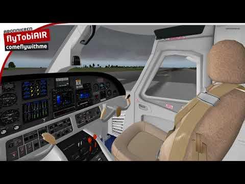 (X-Plane) Evektor EV 55 (EDAH-EDAY)