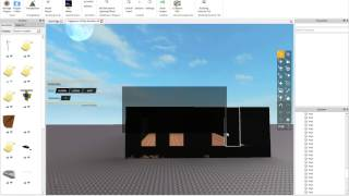 ROBLOX: Building Interiors for Architecture Tutorial 2014 (Advanced) *1080p, Voice*
